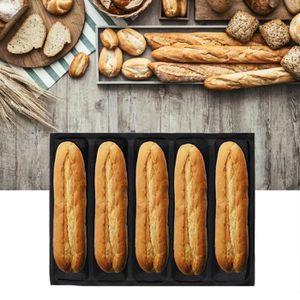 DOITOOL 1 bo/îte /à pain en acier inoxydable pour comptoir de cuisine noir