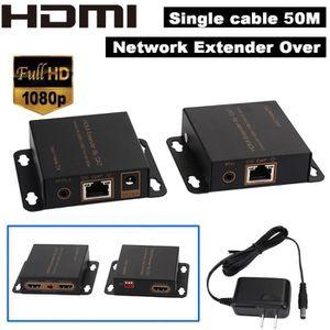CÂBLE TV - VIDÉO - SON Tonsee® Jusqu'à 50M HDMI 1080P Extender avec adapt