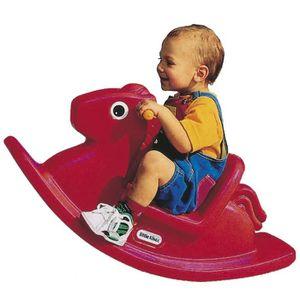 JOUET À BASCULE P102 Jouet cheval a bascule rouge Little Tikes