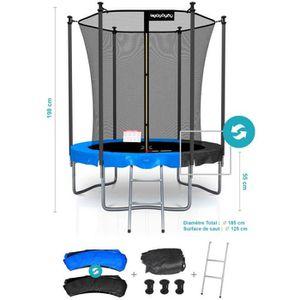 TRAMPOLINE CLASSIQUE 6FT Pack trampoline - Matelas réversible