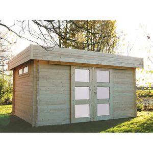 ABRI JARDIN - CHALET SOLID Abri de jardin bois Viborg 418x328cm / 11.89