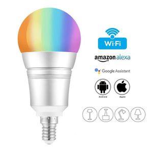 AMPOULE INTELLIGENTE Juce® Ampoule Intelligente WiFi E14 9W RGB LED Amp