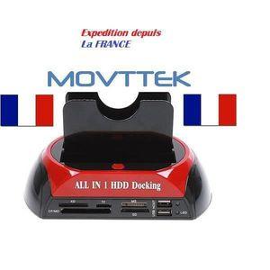 STATION D'ACCUEIL  MOVTTEK Station Accueil Dock pour Disque Dur 2.5 3