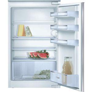 RÉFRIGÉRATEUR CLASSIQUE BOSCH KIR18V20FF - Réfrigérateur 1 porte encastrab