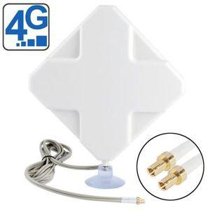 AMPLIFICATEUR DE SIGNAL Antenne 4G - 35dBi (connecteur TS9)