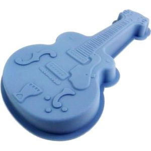 MOULE  Moule a gateau en silicone guitare patisserie GUIZ