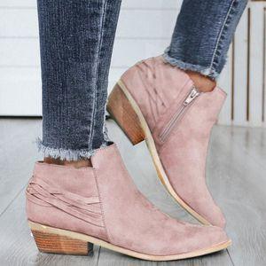 BOTTINE yangledu®Mesdames Mode cheville Chaussures Flock t