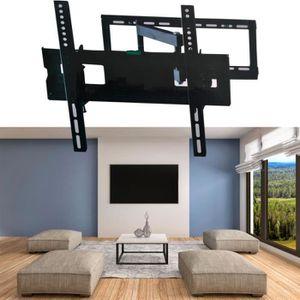 FIXATION - SUPPORT TV Support TV mural pivotant et inclinable capacité 4