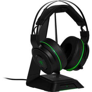 CASQUE AVEC MICROPHONE Casque Thresher Ultimate Razer pour Xbox One Vert