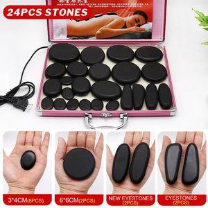 APPAREIL DE MASSAGE  TEMPSA Kit 24Pcs Appareil de massage pierres chauf