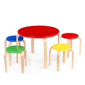 Table ronde enfant achat vente table ronde enfant pas for Table et chaise bebe 2 ans