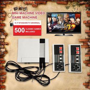 MANETTE JEUX VIDÉO Mini NES Console de Jeu Portable 500 Jeux Classiqu