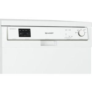 LAVE-VAISSELLE SHARP Lave-vaisselle - QW-HX13F472W - Pose-libre -