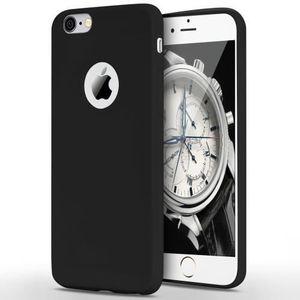 Coque iphone 6s noir mat