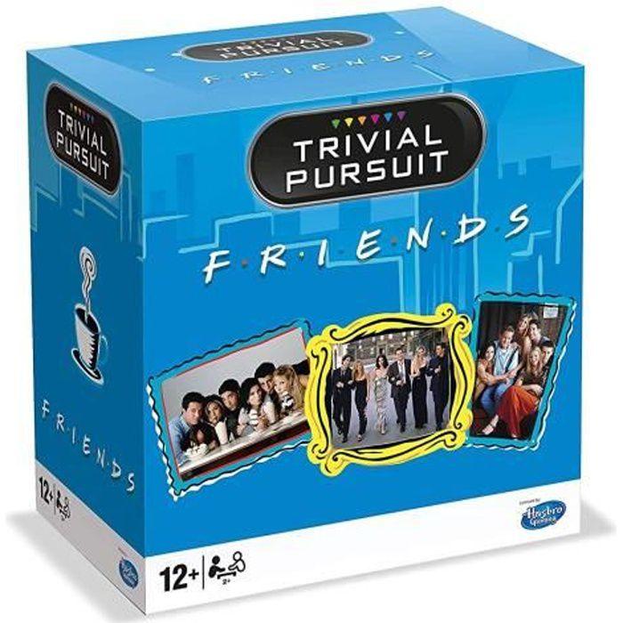 TRIVIAL PURSUIT - Friends - Format de voyage 600 questions - Jeu de societé - Version française