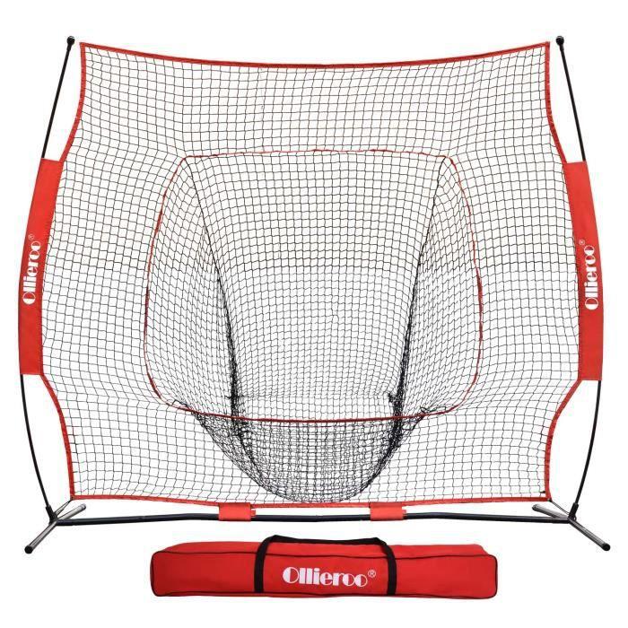 Medecine Ball EYCVT Portable Batting Practice Ball Caddy for 7x7 Baseball, Softball Practice Net (NET & FRAME Sold Sepa