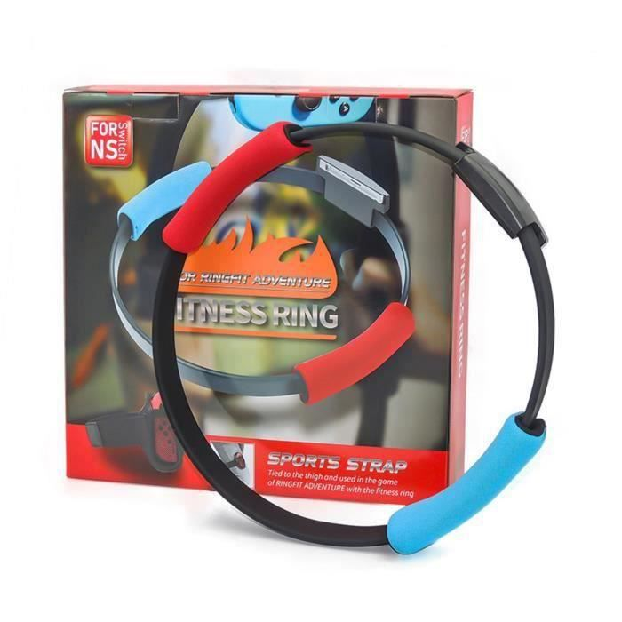 Switch Game Fitness Ring Adventure NS Ring Fit Somatosensory Sports Game Yoga Fitness Ring + Leg Strap