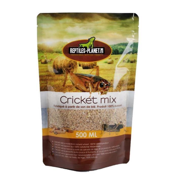 Nourriture pour grillons Cricket Mix 500 ml REPTILES-PLANET