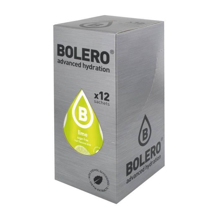 12 x Bolero Powdered Drinks Classic 9 g sachet - Poire