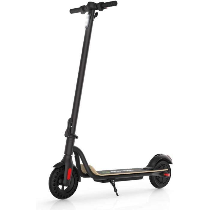 """Trottinette Électrique Adulte et Enfant, MEGAWHEELS S10 Scooter Électrique Pliant 8""""-250W - 25km/h -7,5A -Ecran LED -3 Vitesses Noir"""