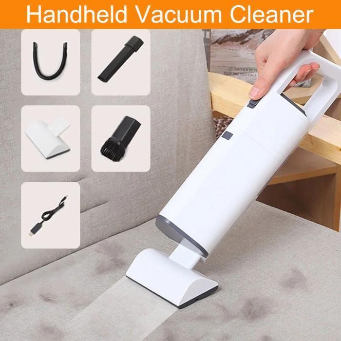 Aspirateur portable aspirateur rechargeable pour le nettoyage à domicile de voiture de poils d'animaux SJJ200730982_Gaoqiaoe