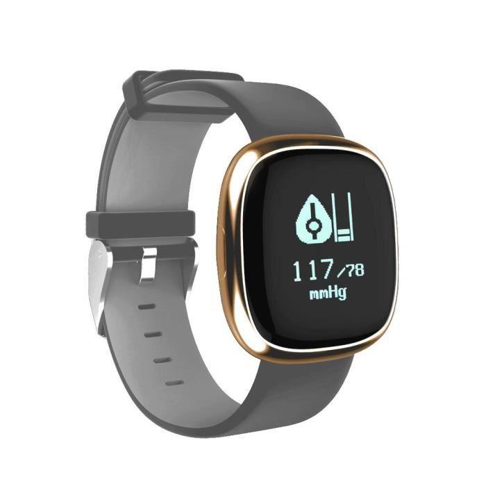 Bracelet d'activité Elegance cardio - Bluetooth - 0,95 pouces - IP67 - fréquence cardiaque - Cellys