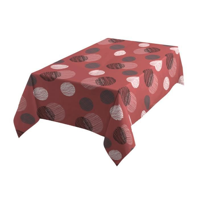Nappe RONDEO ROUGE 150X250