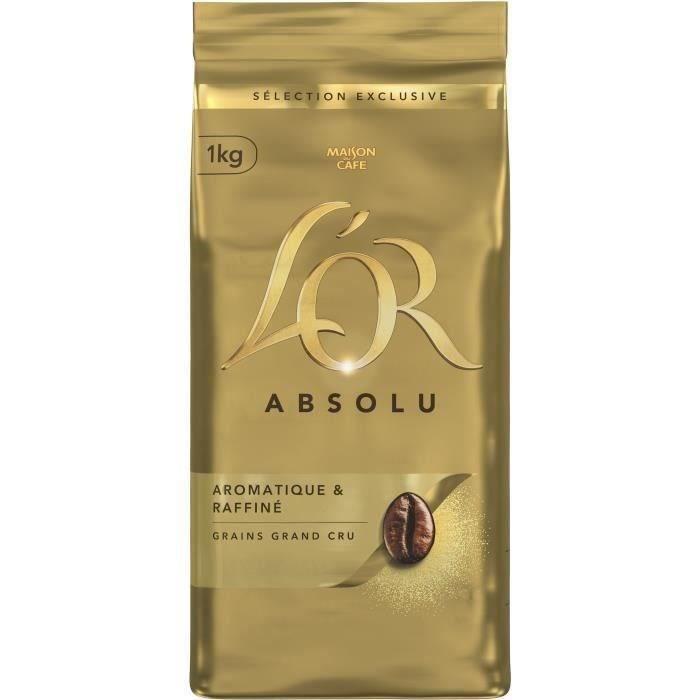 L'OR ABSOLU Café grains - 1 kg