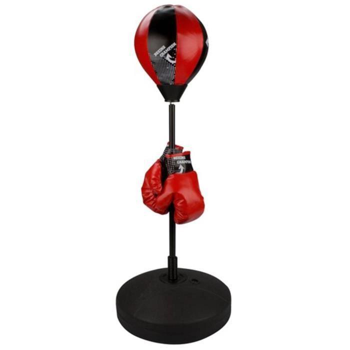 Punching ball Avento reflex junior noir/rouge