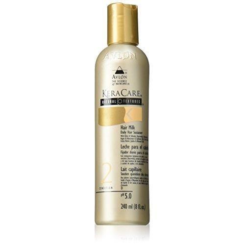 Avlon KeraCare Natural Textures Cheveux Lait capillaire quotidien Bougies, état 2, 240 ml-8 Fl. oz