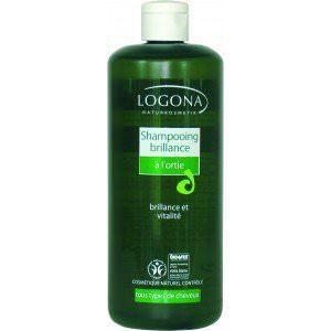 Shampooing bio brillance à l'ortie 500ml LOGONA