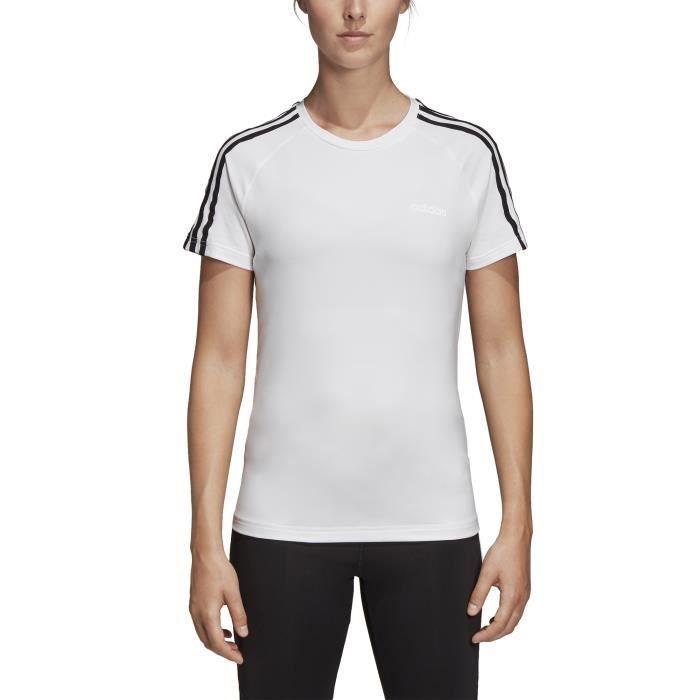 Adidas Performance T-shirt femme adidas Design 2 Move 3tripes Training