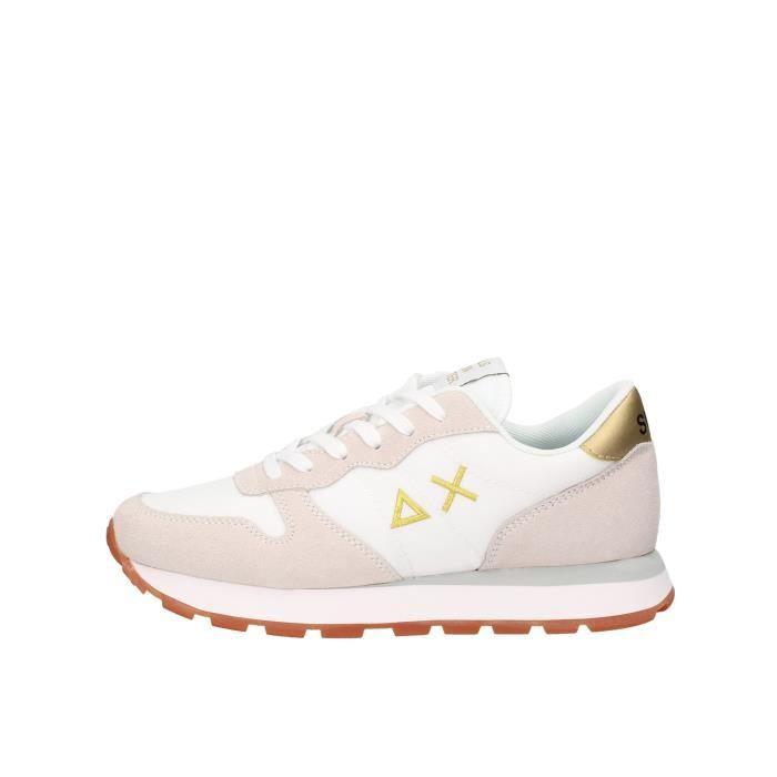 Sun68 Z30201 chaussures de tennis Femme blanc
