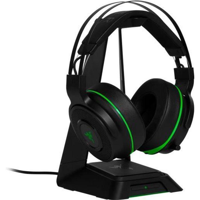 Casque Thresher Ultimate Razer pour Xbox One Vert et noir