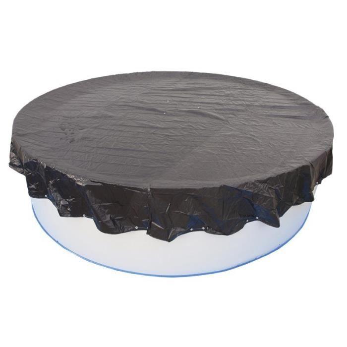 TORRENTE Bâche d'hiver pour piscine 230cm - Noire