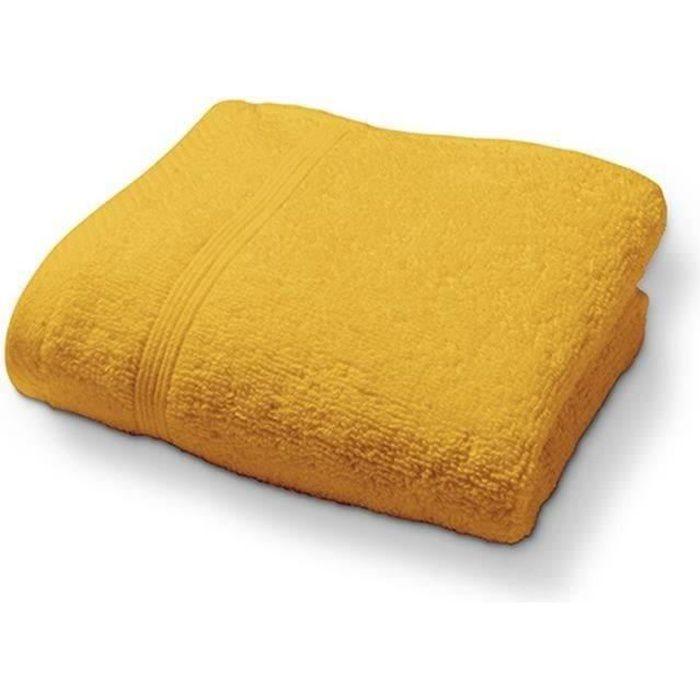 TODAY Drap de bain Safran 100% Coton - 70 x 130 cm TODAY