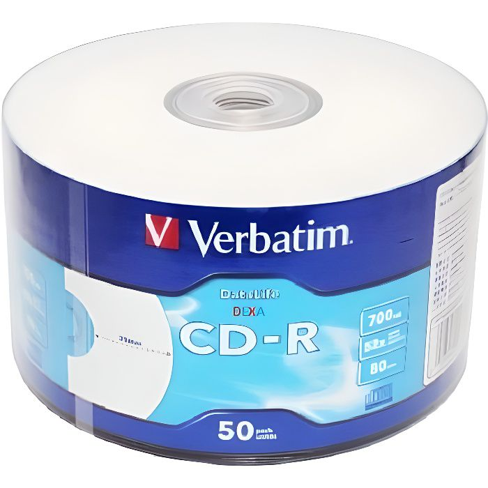 50 CD-R Verbatim Printable