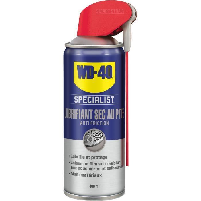 WD-40 Spécialiste lubrifiant sec au ptfe - 400ml