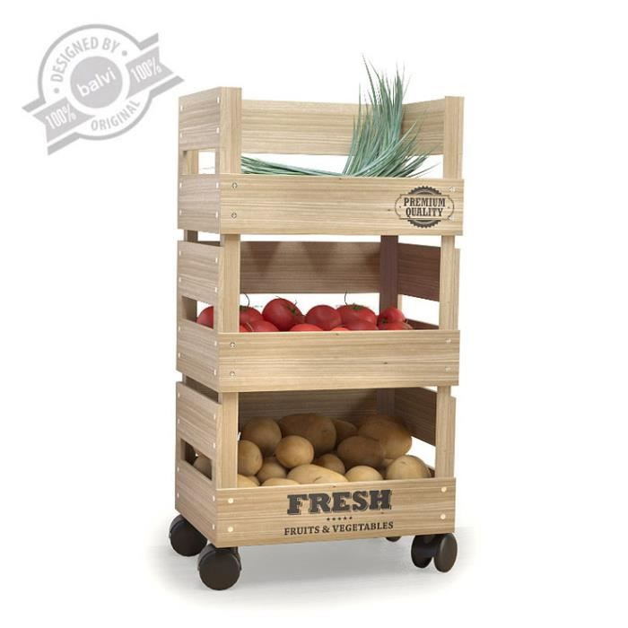 rangement fruits l gumes fresh market achat vente porte fruits coupe cdiscount. Black Bedroom Furniture Sets. Home Design Ideas