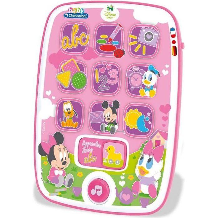 TABLETTE ENFANT CLEMENTONI Disney Baby  - Ma première Tablette Min