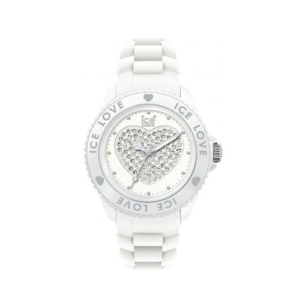 montre ice watch love big blanche blanc achat vente montre cdiscount. Black Bedroom Furniture Sets. Home Design Ideas