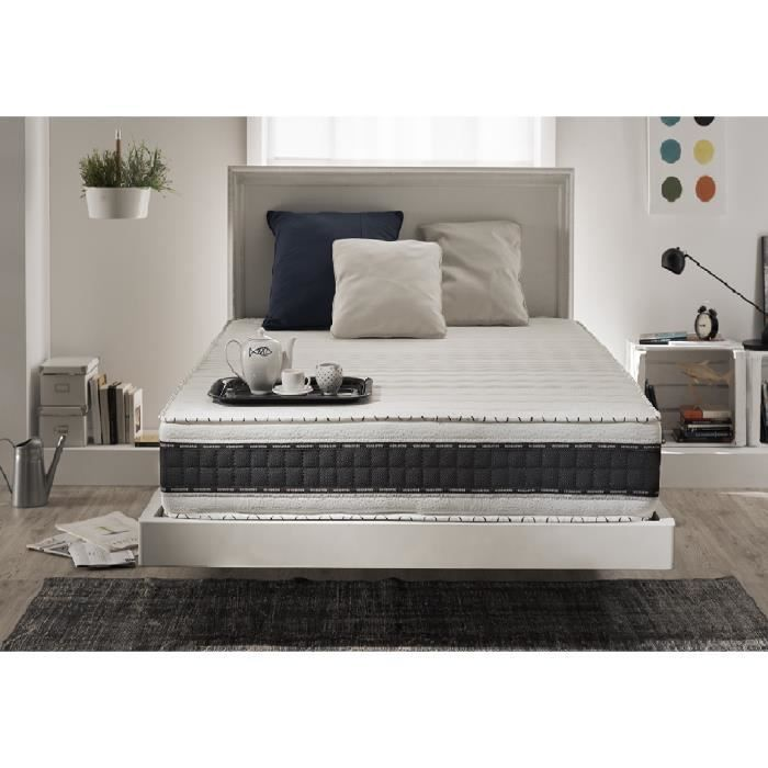 matelas a memoire de forme 160x200 25 cm achat vente matelas a memoire de forme 160x200 25. Black Bedroom Furniture Sets. Home Design Ideas