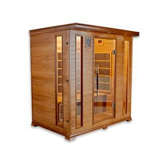 Sauna infrarouge cabine 4 places luxe puissance achat vente kit sauna sa - Achat sauna infrarouge ...