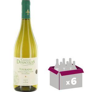 VIN BLANC DES JACQUES Touraine Sauvignon Vin de la Loire - B