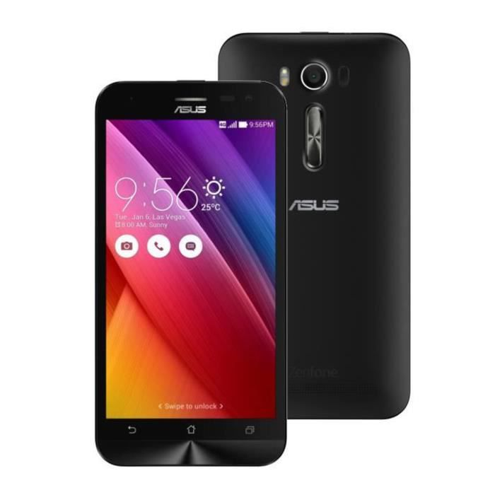 asus zenfone 2 ze500kl 8go 4g noir achat smartphone pas. Black Bedroom Furniture Sets. Home Design Ideas