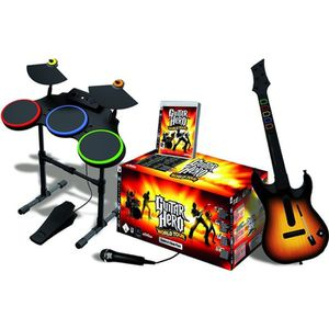 PACK ACCESSOIRE Superpack Guitar Hero World Tour PS3
