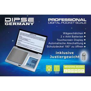 BALANCE ÉLECTRONIQUE Mini Balance de poche Digitale 100g x 0,1g, électr