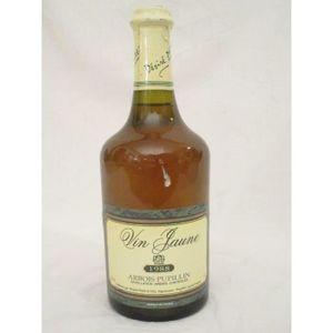 VIN BLANC arbois désiré petit vin jaune blanc 1988 - jura fr