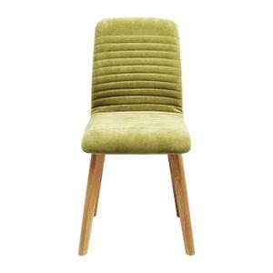 CHAISE Chaise Lara velours vert Kare Design