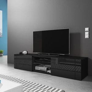 MEUBLE TV Meuble TV / Meuble de salon - ÉLÉGANT - 140 cm - n